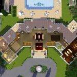 Mansion Floor Plans Sims Mod Manor