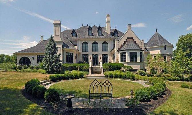 Mansions More Elegant French Style Mansion Doylestown