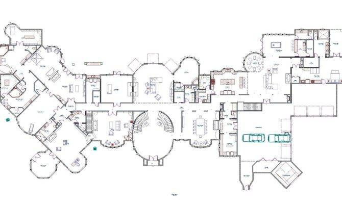Mansions More Luxury Homes Partial Floor Plans Have