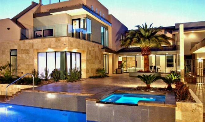 Mansions Pools Perfect Touch Luxury Home