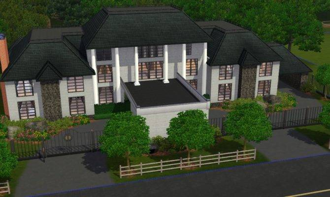 Mansions Sims Sim Realty