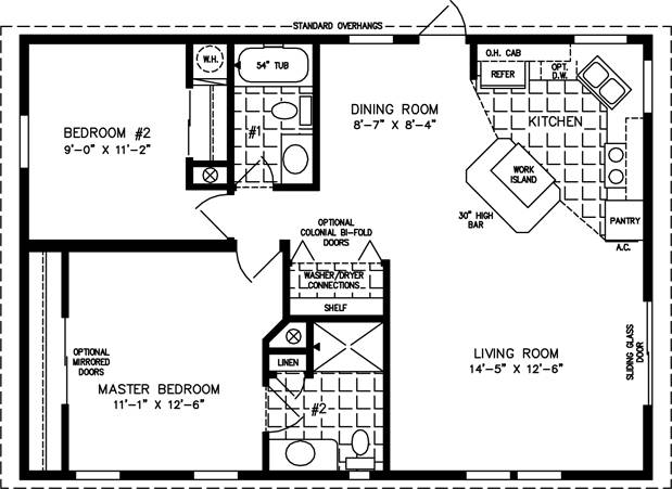 Manufactured Home Floor Plans Jacobsen