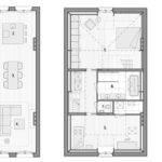 Map Design Two Floor Apartment Interior Architecture