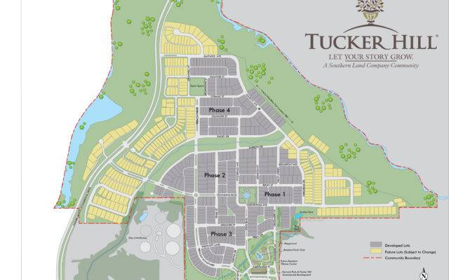 Maps New Home Community Tucker Hill