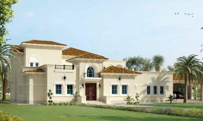 March Arabic Style Villa Architecture Uae