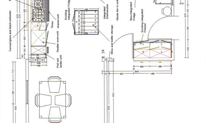Mark Halton Kitchen Plan