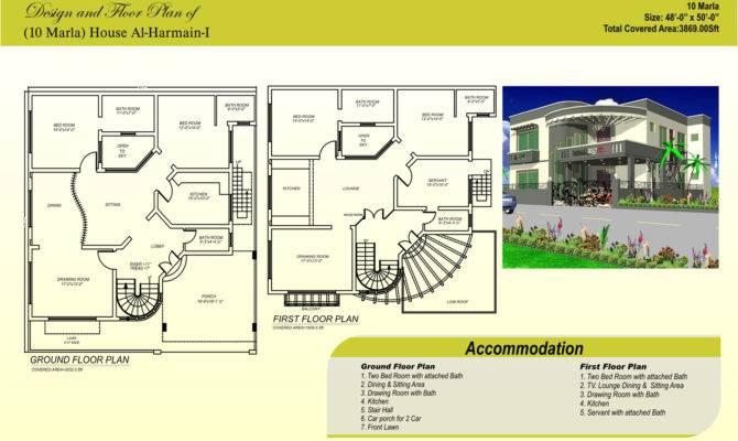 Marla House Maps Designs Building Plans