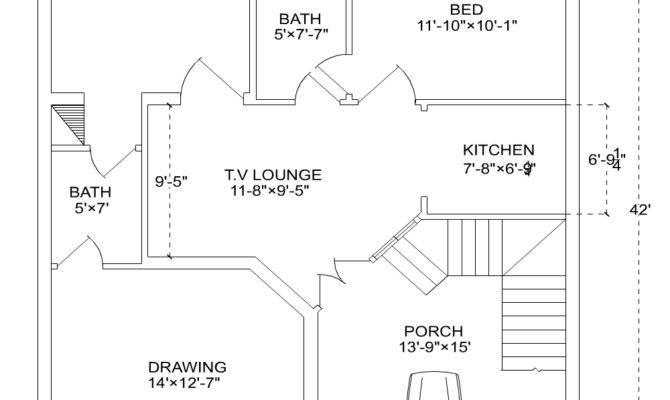Marla House Plan Modern