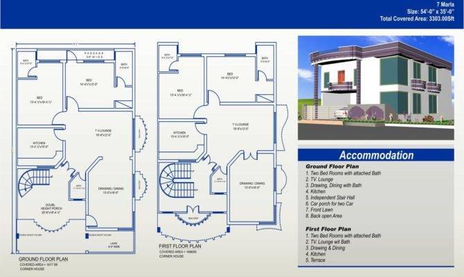 Marla House Plans