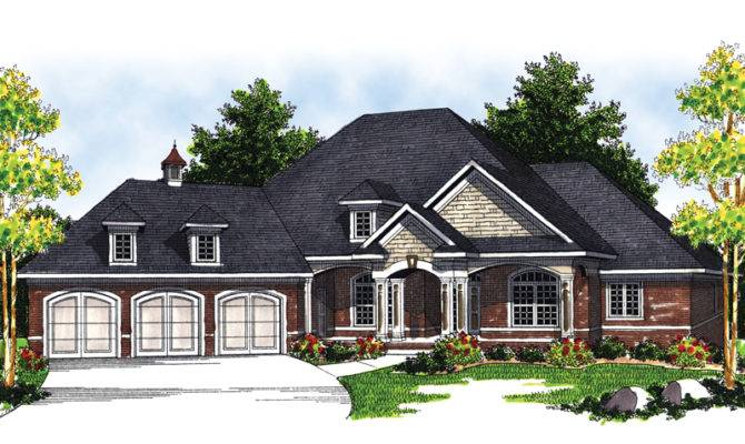 Marmande Luxury Ranch Style Home Plan House