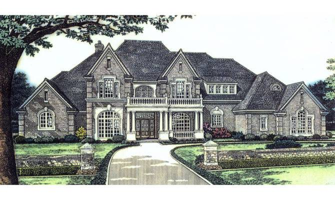 Marston Manor Luxury Home Plan House Plans