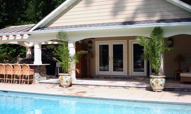 Maryland Custom Design Pool House Installation