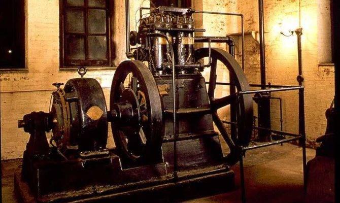 Massive Generator Located Basement Biltmore House