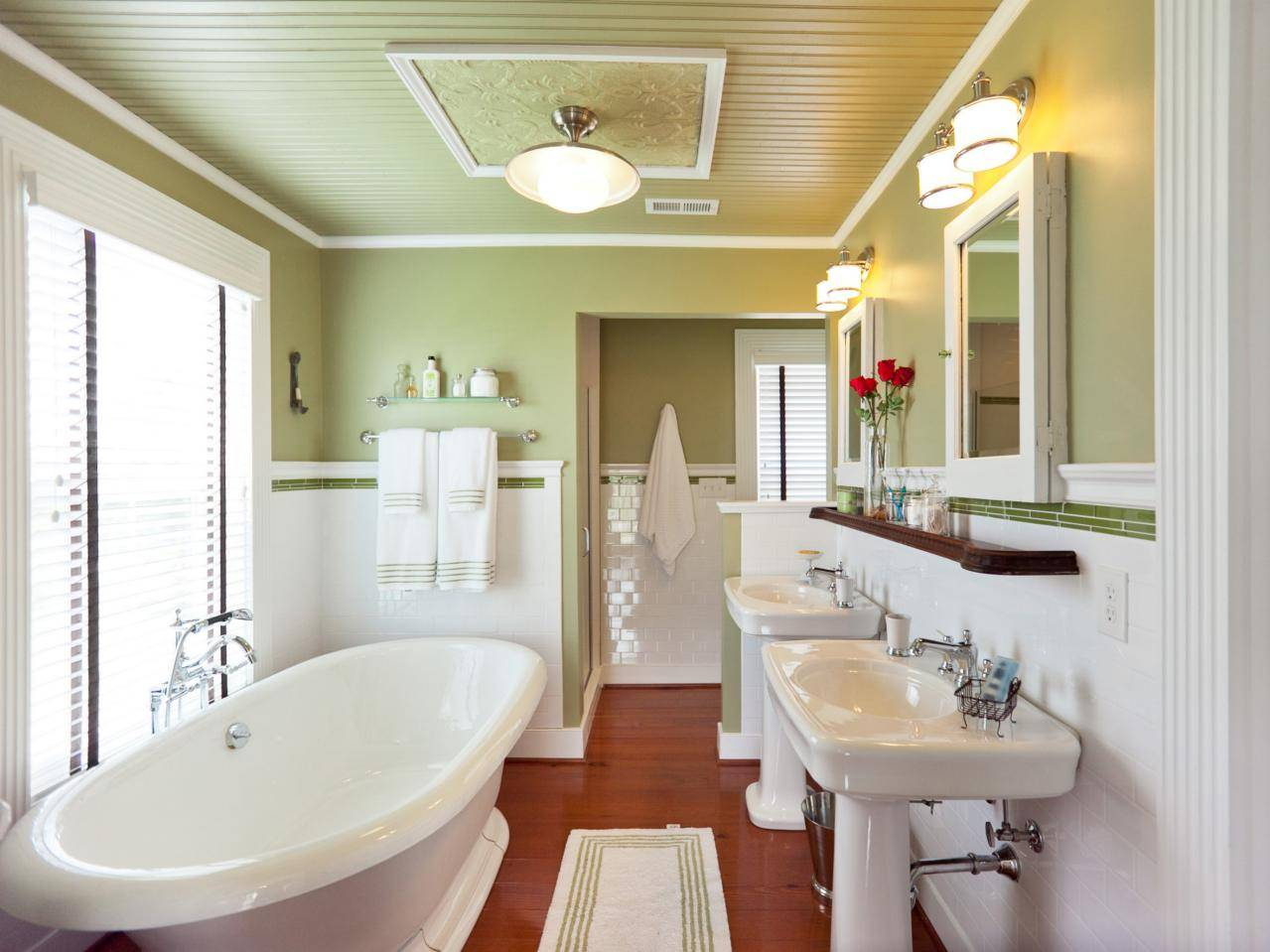 Master Bathroom Blog Cabin Diy Network