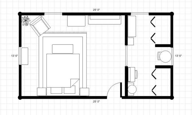 Master Bedroom Bath Floor Plans Bathroom Dressing