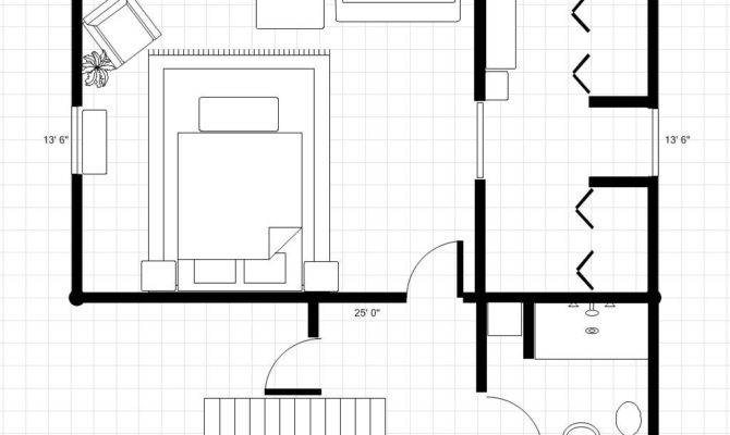 Master Bedroom Bath Floor Plans Interior Design