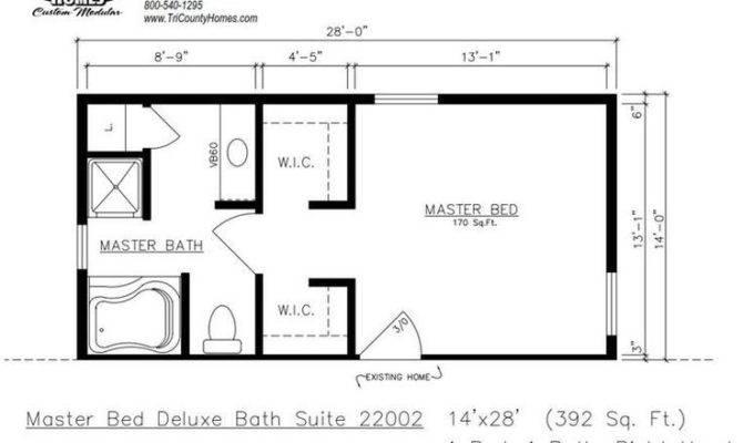 Master Bedroom Blueprints Addition Psoriasisguru