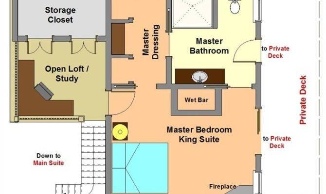 Master Bedroom Floor Plan Modern Highland