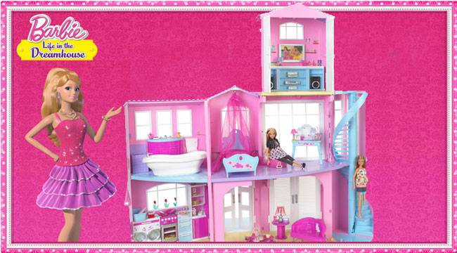 Mattel Barbie Story Dreamhouse Playset Ultimate Dolls