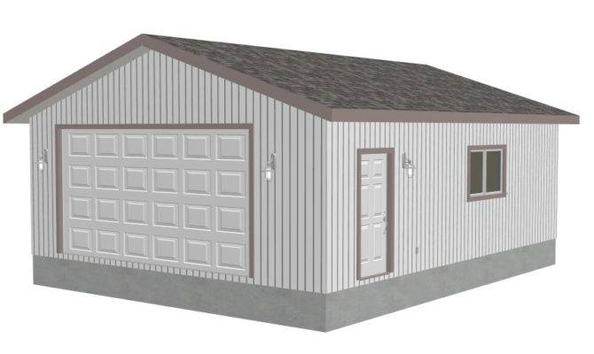Mckee Detached Garage Sds Plans