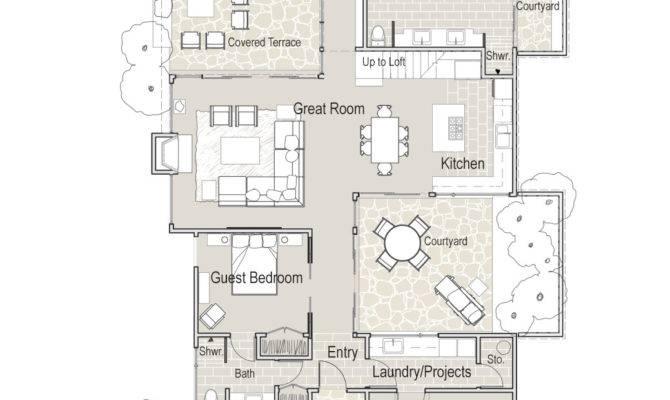 Mcm Design Contemporary House Plan
