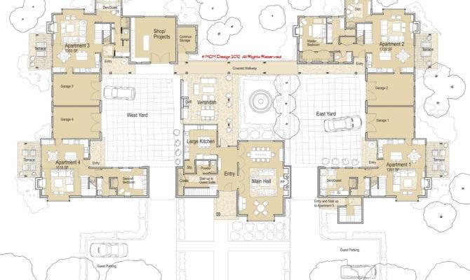 Mcm Design Housing Manor Plan