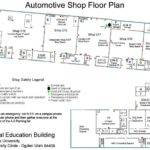 Mechanic Shop Floor Plans Pinterest