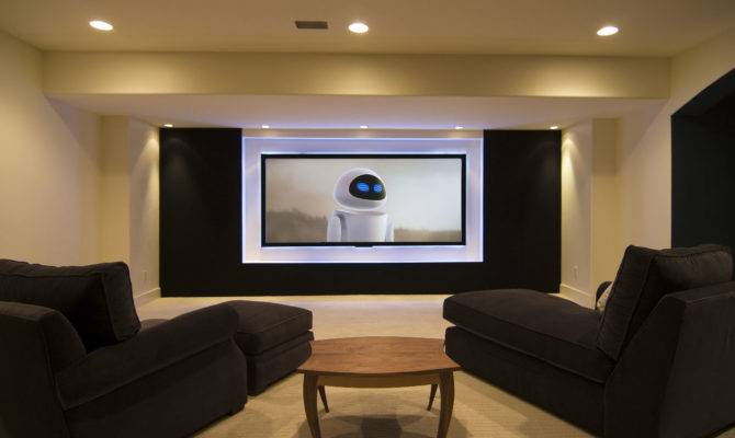 Media Rooms Basements Home Design Ideas