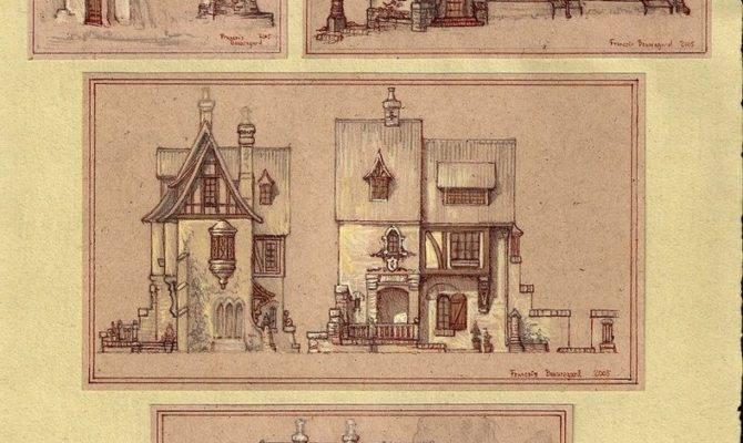 Medieval Houses Built Ever Deviantart