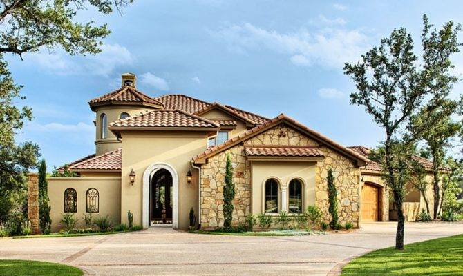 Mediterranean Homes Idea Custom Style Exterior Dream House