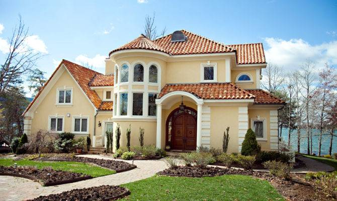 Mediterranean House Color Schemes Exterior Keboconstruction