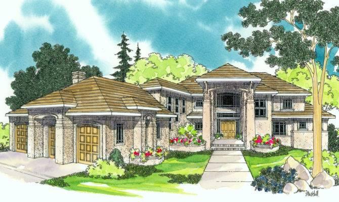 Mediterranean House Plans Belle Vista Associated Designs