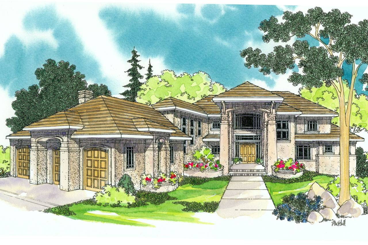 Mediterranean House Plans Belle Vista Associated Designs