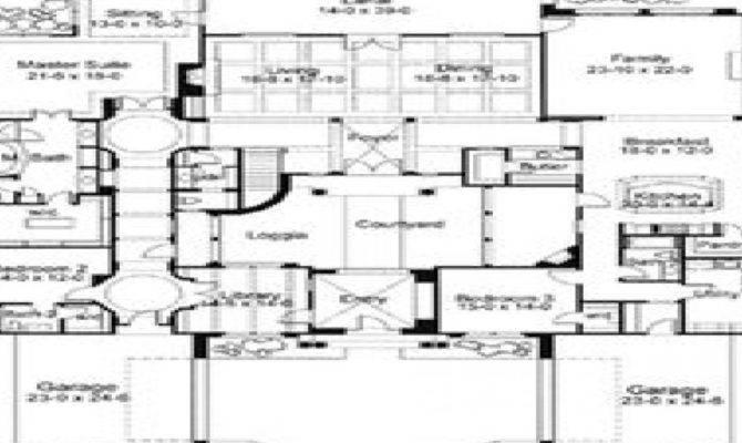 Mediterranean House Plans Courtyards Fantastic Danutabois