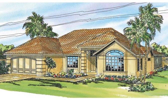 Mediterranean House Plans Pereza Associated Designs