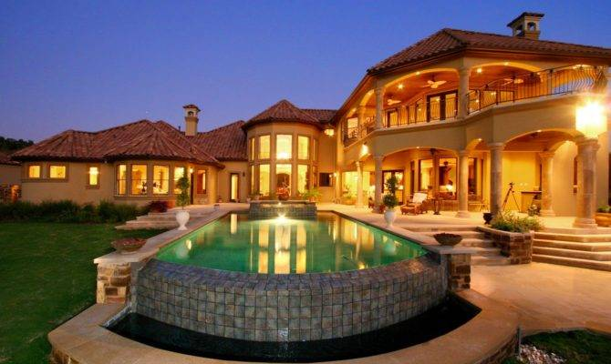 Mediterranean House Plans Pools Home Designs