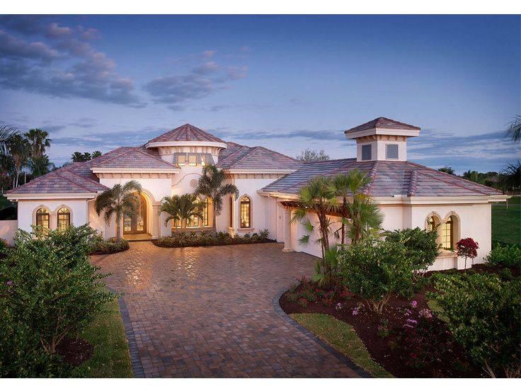 Mediterranean House Plans Premier Luxury
