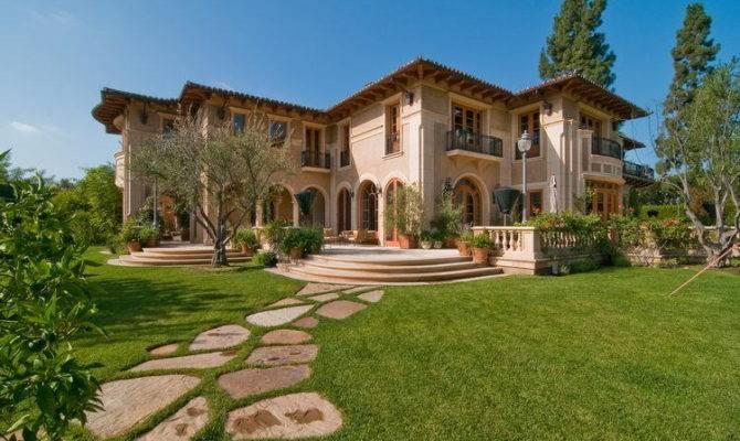 Mediterranean Manor Beverly Hills Luxatic