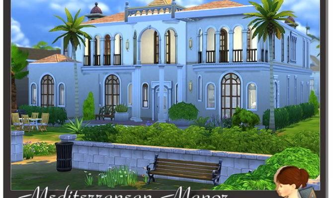 Mediterranean Manor Evanell Tsr Sims Updates