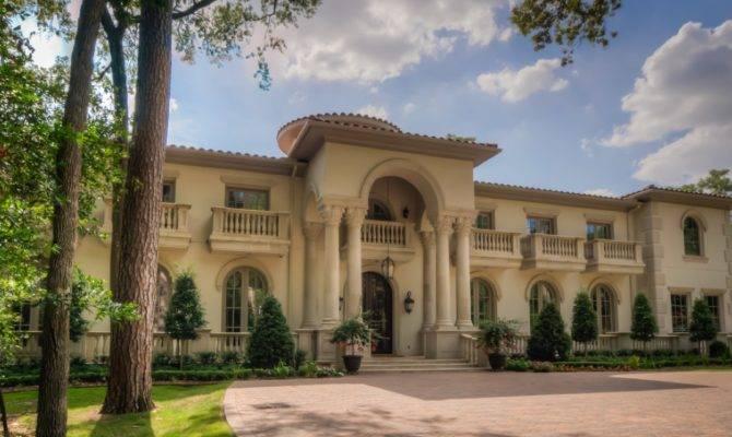 Mediterranean Mansion Houston Amazing Foyer
