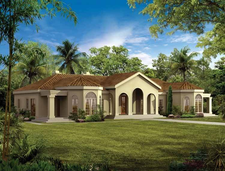 Mediterranean Modern House Plans Eplans Home Design