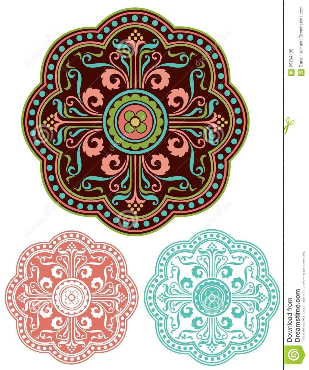 Mediterranean Ornament Traditional