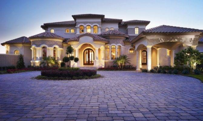 Mediterranean Style Home Designs Architecturein