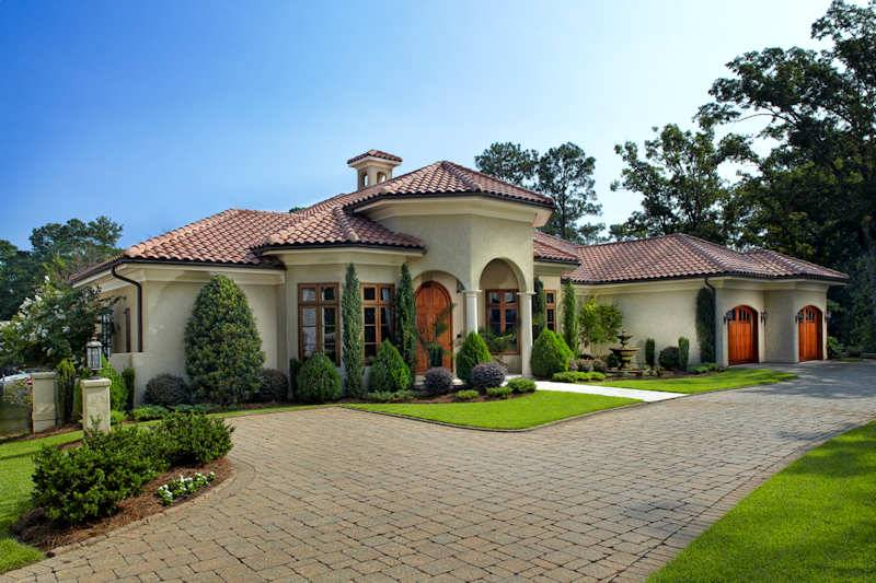 Mediterranean Style Homes Casual Cottage
