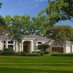 Mediterranean Style House One Story Florida