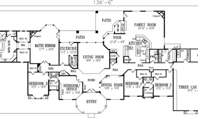 Mediterranean Style House Plans Square Foot Home
