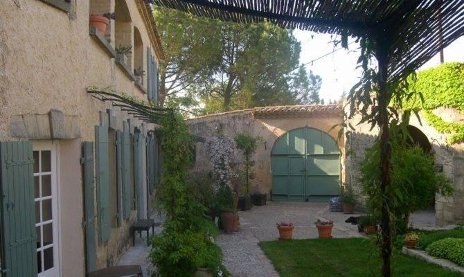 Mediterranian Courtyard Gardens Courtyards Verandas Pinterest