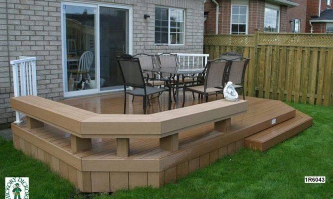 Medium Diy Deck Plans