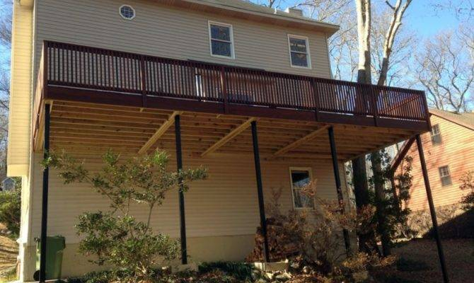 Member Day Second Story Deck Redo Angie List