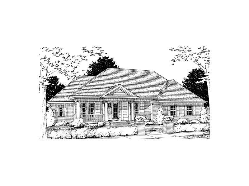 Menola Southern Ranch Home Plan House Plans More